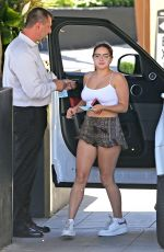 ARIEL WINTER at a Gas Station in Los Angeles 06/14/2017