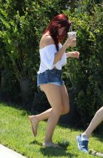 ARIEL WINTER in Cut Off Checking Out Available Properties in Beverly Hills 06/21/2017
