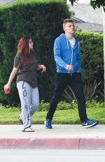 ARIEL WINTER Out and About in Los Angeles 06/01/2017
