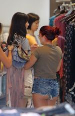 ARIEL WINTER Shopping at Planet Blue in Beverly Hills 06/20/2017