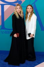 ASHLEY and MARY-KATE OLSEN at CFDA Fashion Awards in New York 06/05/2017