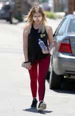ASHLEY BENSON Heading to a Gym in Los Angeles 06/27/2017
