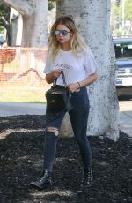 ASHLEY BENSON Out in Los Angeles 06/02/2017