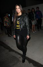 ASHLEY GRAHAM Arrives at Moschino Spring Summer Party 06/08/2017