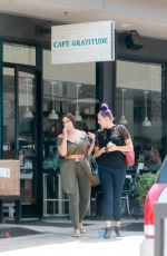 ASHLEY GRAHAM at Cafe Gratitude in Los Angeles 06/01/2017