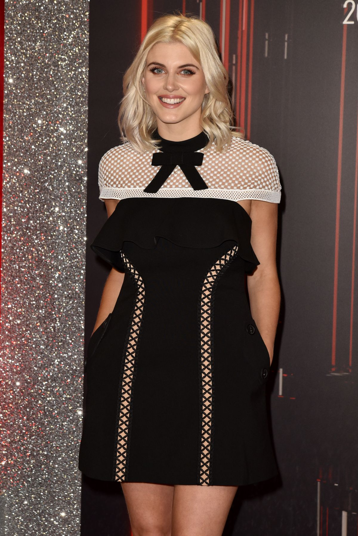ASHLEY JAMES at British Soap Awards in Manchester 06/03/2017