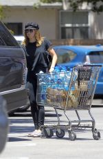 ASHLEY TISDALE Shopping at Wole Foods in Los Angeles 06/18/2017