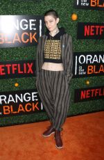 ASIA KATE DILLON at Orange in the New Black Season 5 Premiere Party in New York 06/09/2017