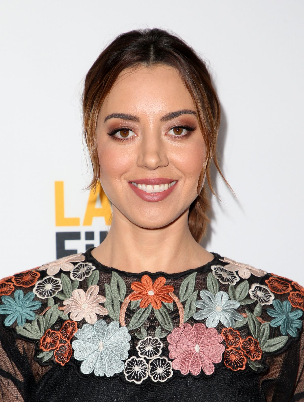 AUBREY PLAZA at The Little Hours Premiere at LA Film Festival in Culver City 06/19/2017
