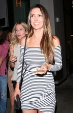 AUDRINA PATRIDGE Leaves Catch LA in West Hollywood 06/23/2017