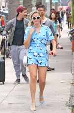 AVA PHILLIPPE Out and About in Brentwood 06/03/2017