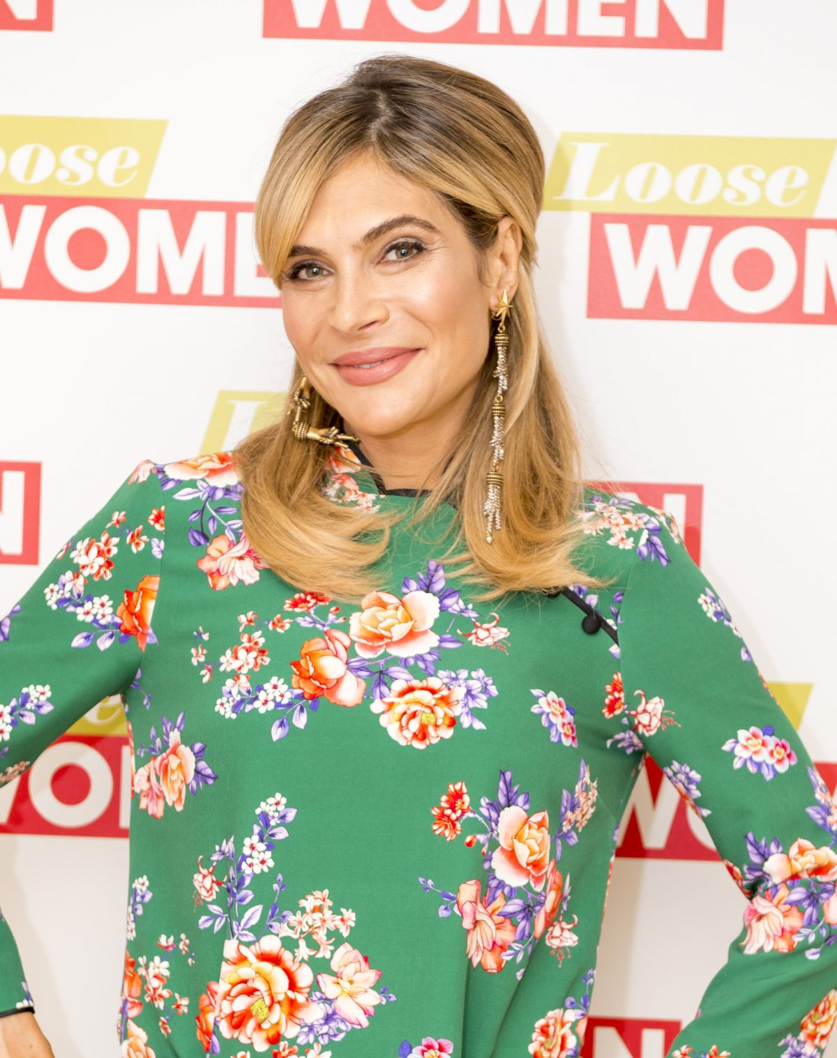 AYDA FIELD at Loose Women Show in London 06/23/2017