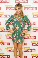 AYDA FIELD at Loose Women Show in London 06/23/2017