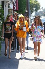 BELLA and DANI THORNE Out and About in Los Angeles 06/03/2017
