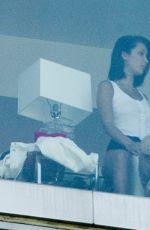 BELLA HADID and Jordan Barrett in the Hotel Room in New York 06/12/2017