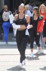 BELLA HADID at Nike Event at a Nike Store in Los Angeles 06/03/2017
