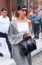 BELLA HADID Leaves Gigi