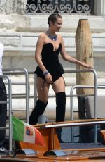 BELLA HADID on the Set of a Photoshoot in Venice 06/28/2017