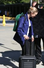BELLA HEATHCOTE Aarrives in Vancouver 06/20/2017