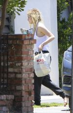 BELLA THORNE Arrives at Her Home in Sherman Oaks 06/13/2017