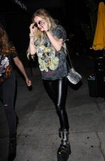 BELLA THORNE at Peppermint Club in West Hollywood 06/05/2017