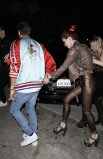 BELLA THORNE Leaves Lana Del Rey