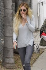 BELLA THORNE Out and About in Los Angeles 05/31/2017