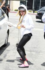 BELLA THORNE Out and About in Los Angeles 06/06/2017