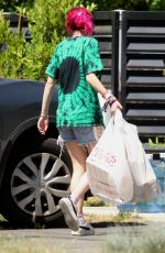 BELLA THORNE Out and About in Los Angeles 06/25/2017