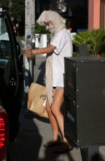 BELLA THORNE Out and About in Sherman Oaks 06/15/2017