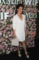 BELLAMY YOUNG at Women in Film Max Mara Face of the Future Reception in Los Angeles 06/12/2017
