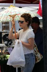 BETHANY JOY LENZ Shopping at Farmer
