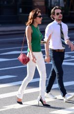 BETHENNY FRANKEL on the Set of Her Upcoming Reality Show in New York 06/01/2017