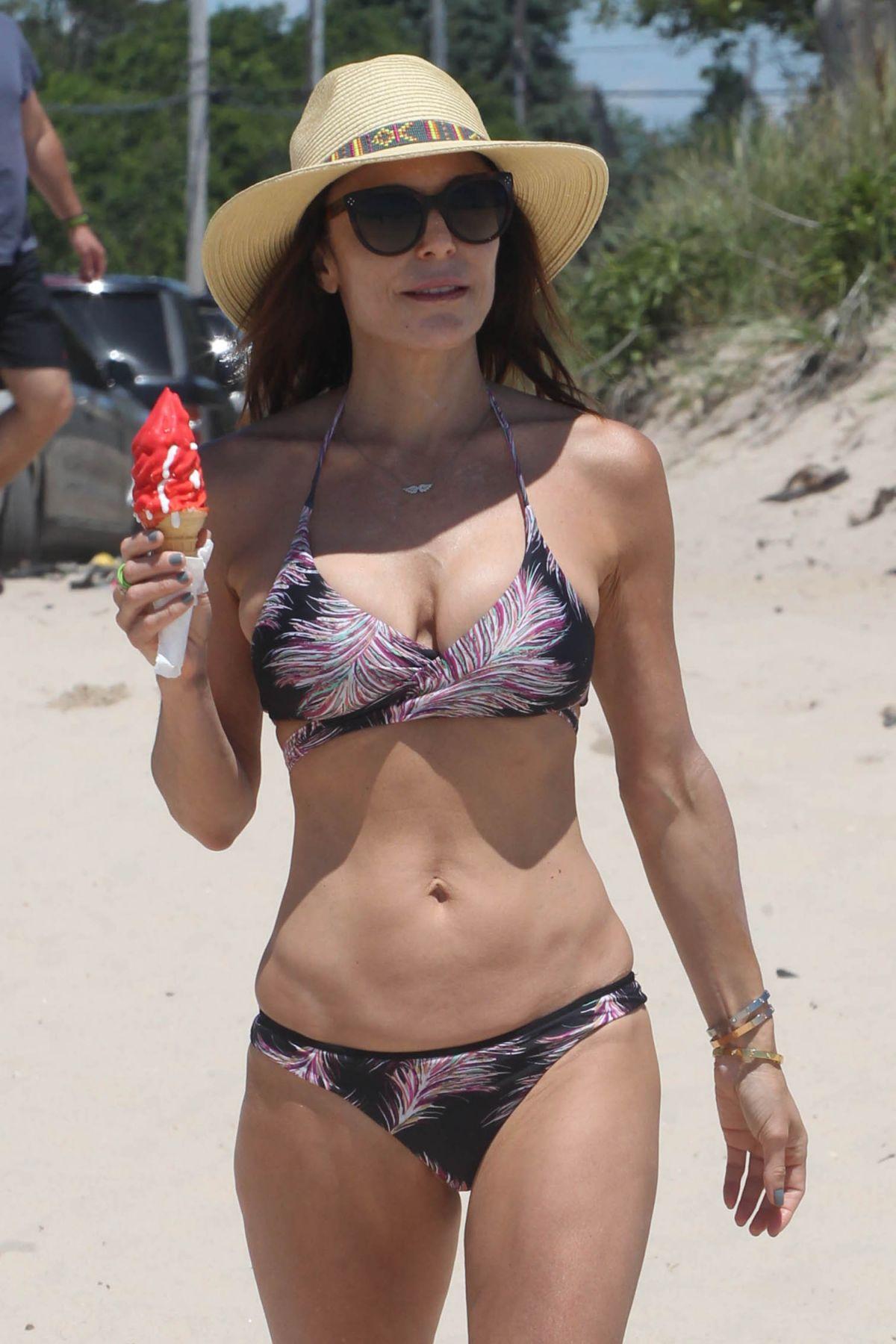 BETHENNY FRANKEL in Bikini at a Beach in Hamptons 06/25/2017