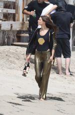 BIANCA BALTI on the Set of a Photoshoot in Malibu 06/14/2017