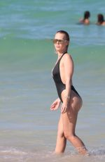BIANCA ELOISE in Swimsuit at a Beach in Miami 06/23/2017