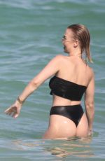 BIANCA ELOUISE and J LYNNE in Bikinis at a Beach in Miami 06/24/2017