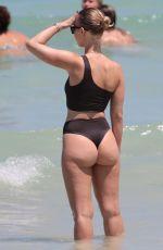 BIANCA ELOUISE in Bikini on the Beach in Miami 06/26/2017