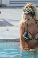 BIANCA GASCOIGNE in Bikini at Pool of Her Hotel in Ibiza 05/30/2017