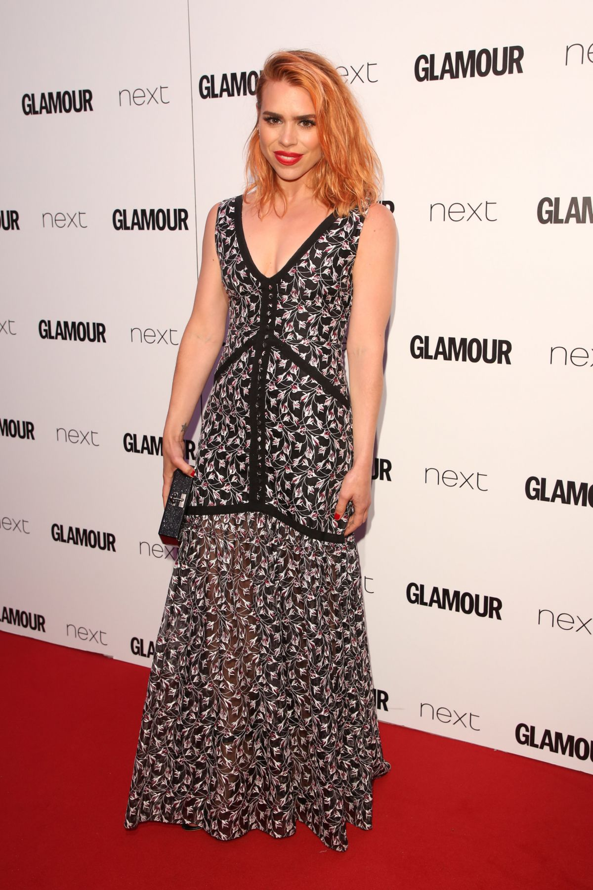 BILLIE PIPER at Glamour Women of the Year Awards in London 06/06/2017