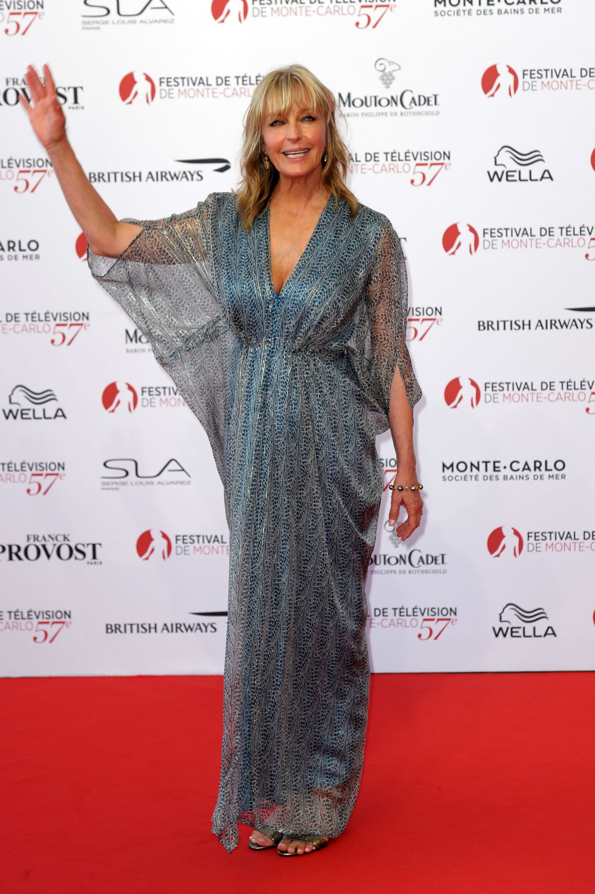 BO DEREK at 57th Monte-Carlo Television Festival Opening 06/16/2017