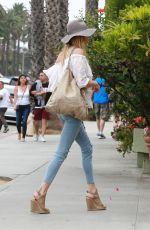 BRANDI GLANVILLE at Ivy at Shore Restaurant in Santa Monica 06/04/2017