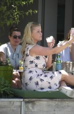 BRIDGET MAASLAND at a Beach Bar in Barcelona 06/18/2017