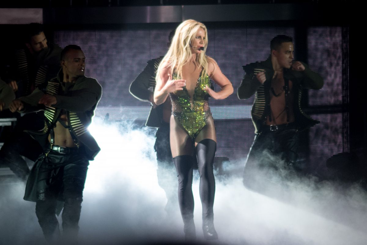 BRITNEY SPEARS Performs at a Concert in Tokyo 06/04/2017
