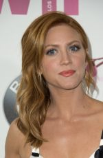 BRITTANY SNOW at Women in Film 2017 Crystal + Lucy Awards in Beverly Hills 06/13/2017