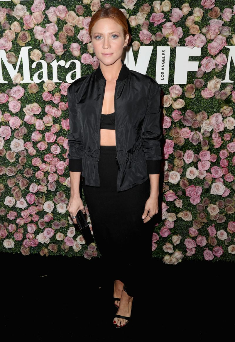 BRITTANY SNOW at Women in Film Max Mara Face of the Future Reception in Los Angeles 06/12/2017