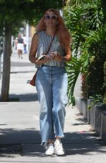 BUSY PHILIPPS Out in West Hollywood 06/13/2017