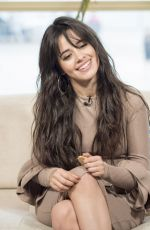 CAMILA CABELLO at This Morning Show in London 05/31/2017