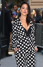 CAMILE GUATY Arrives at AOL Studios in New York 05/31/2017