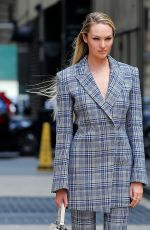 CANDICE SWANEPOEL on the Set of Photoshoot for Vogue in New York 06/03/2017